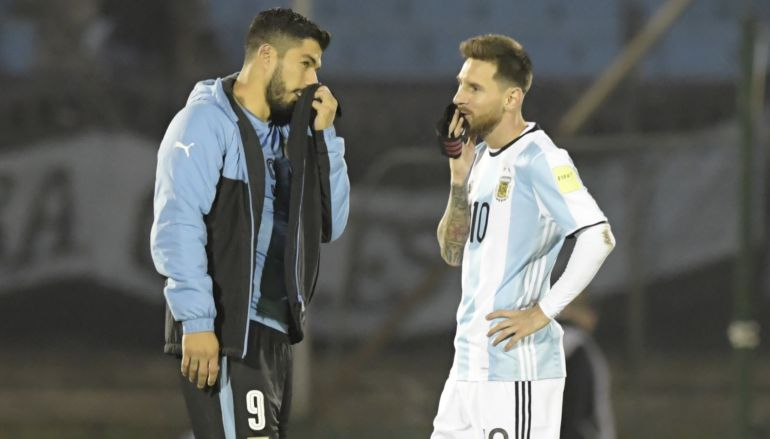 """Luis Suárez: """"Messi saldrá adelante»"""
