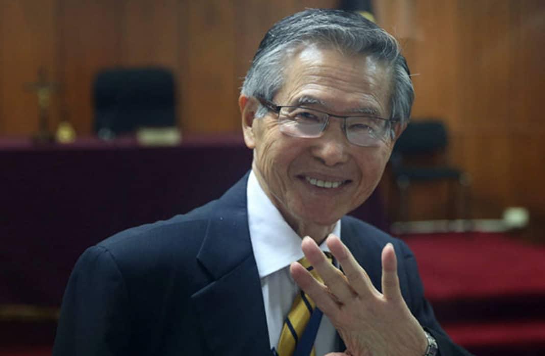 Alberto Fujimori se solidariza con la Policía Nacional