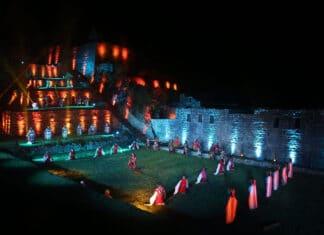 Machu Picchu-ceremonia