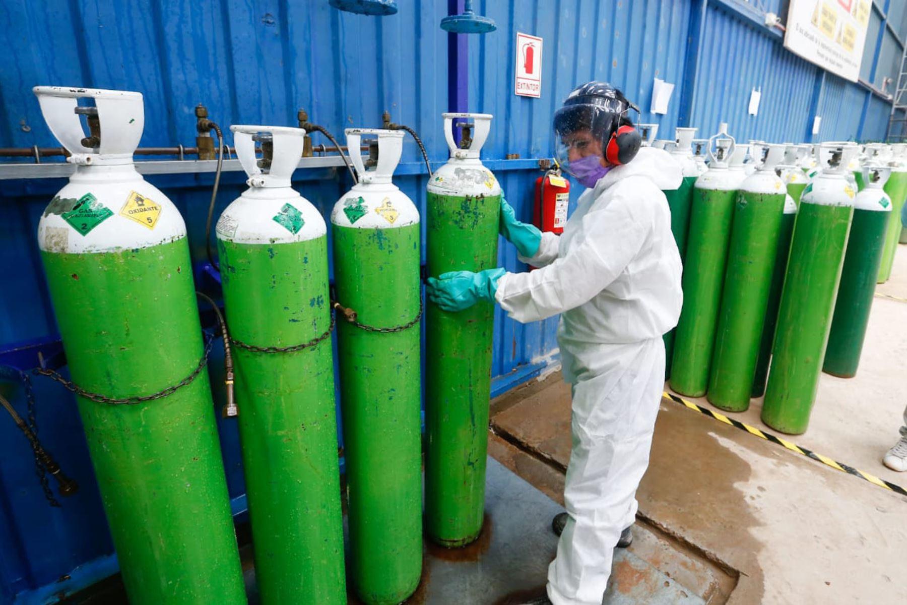 Ley Garantiza uso de oxígeno en establecimientos de Salud