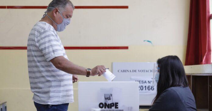 local de votación ONPE