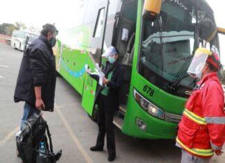 Buses interprovinciales