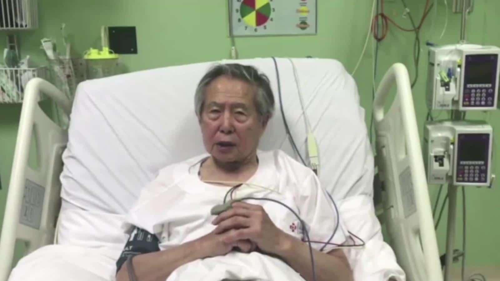 Alberto Fujimori sufrió una descompensación