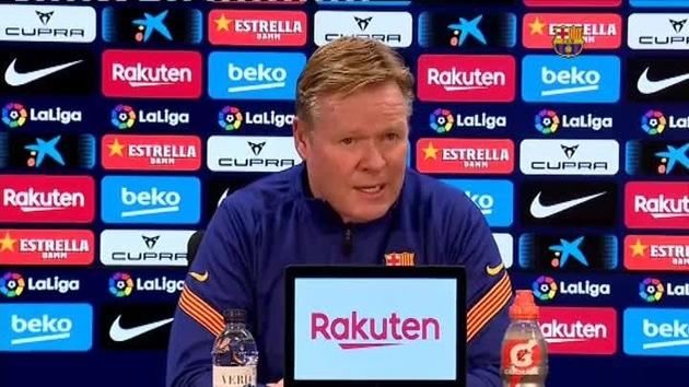 Koeman: «No me gusta contestar preguntas sobre Luis Suárez»
