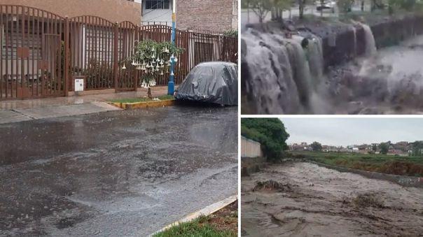 Arequipa: Fuertes lluvias inundan viviendas
