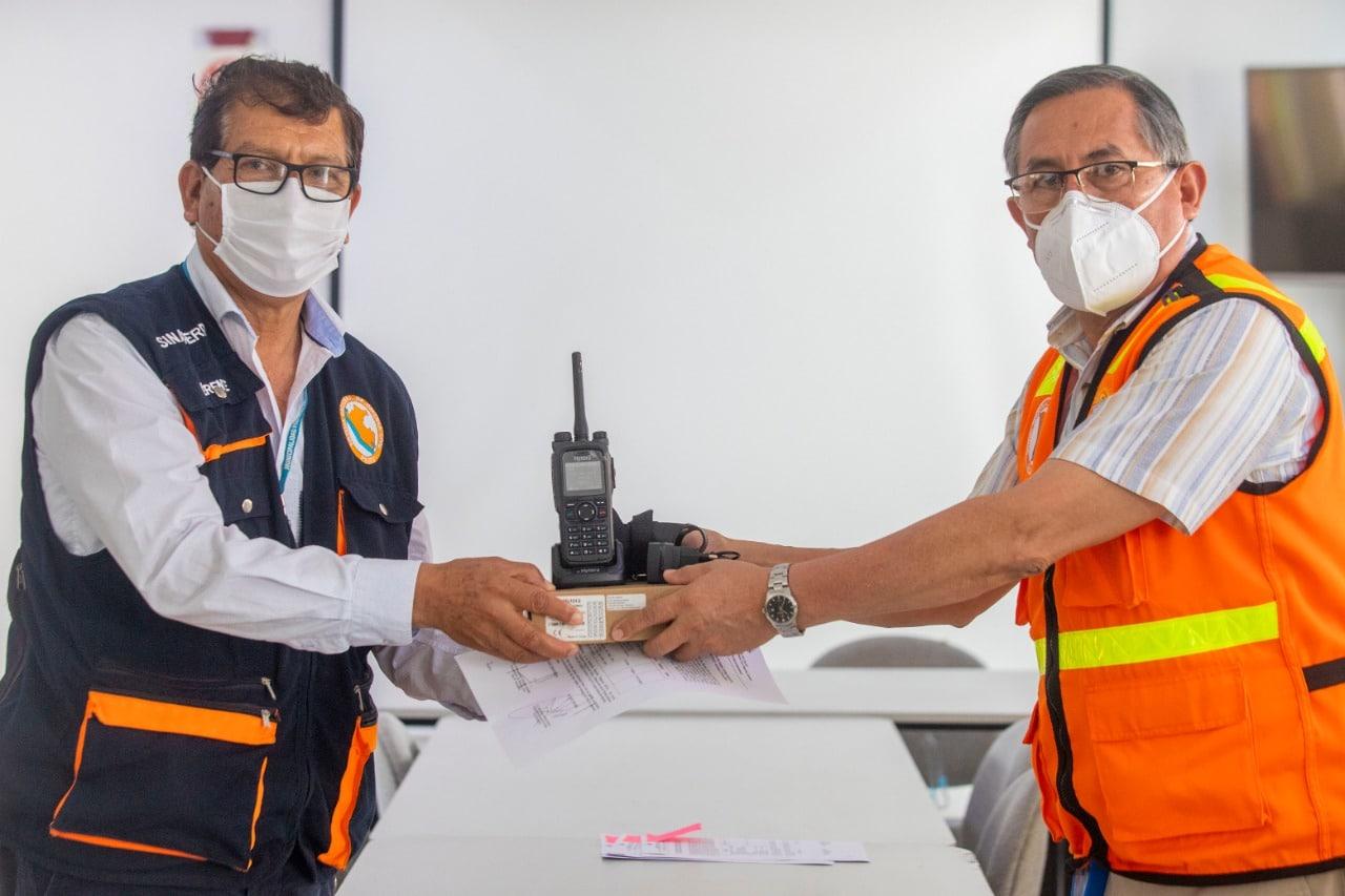 Gobierno Regional del Callao entrega radios Tetra a municipios chalacos