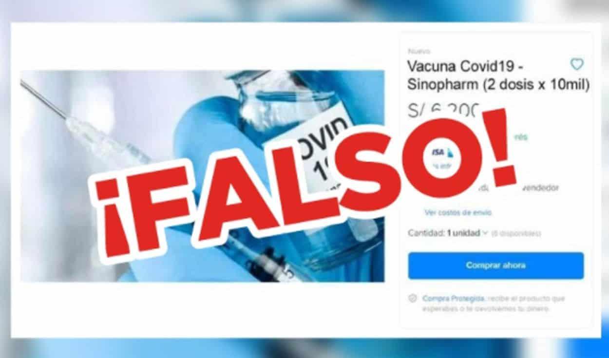 vacunas venta
