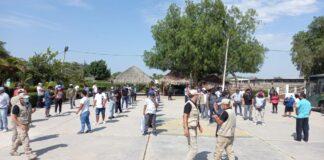 Alrededor de 50 infractores del estado de emergencia fueron detenidos por la policía en Chiclayo. Renan Rubio Ñiquen y Jairo Cieza Galvez fueron detenidos