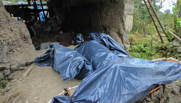 Huánuco: Fuertes lluvias provocaron la muerte de una familia tras derrumbarse su vivienda