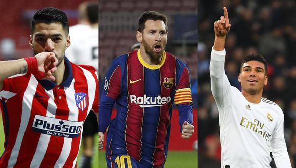 El calendario que les resta a Atleti, Barça y Real Madrid