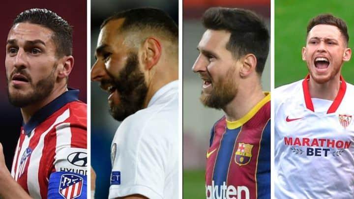 Atleti, Real Madrid, Barcelona y Sevilla: calendario y qué partidos de LaLiga les quedan