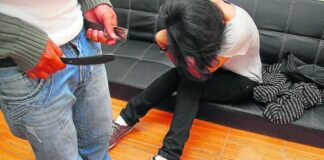 sujeto violación