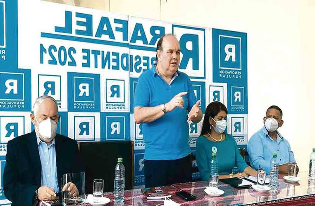 Renovación Popular pide a la ONPE la revisión completa de actas electoreales