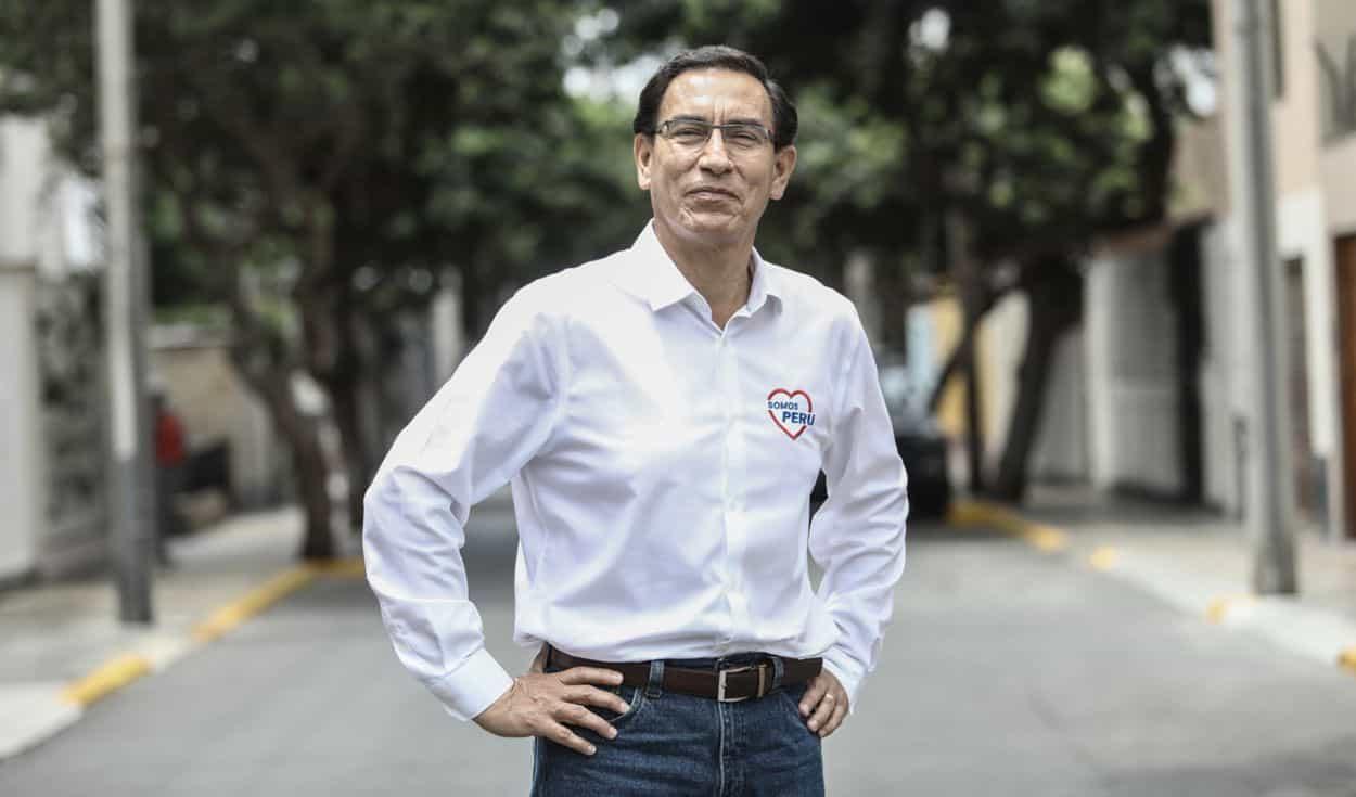 ONPE: Martín Vizcarra es el candidato con más votos al Congreso