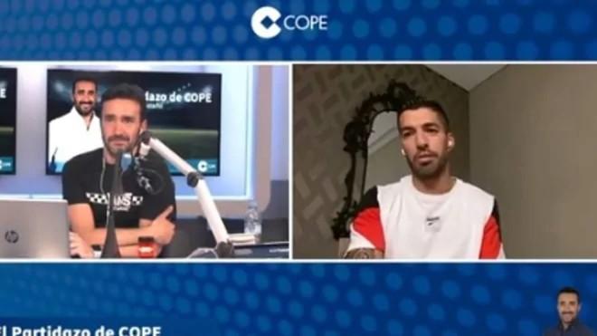 Luis Suárez:  «Estoy feliz acá y es imposible decir que me voy»