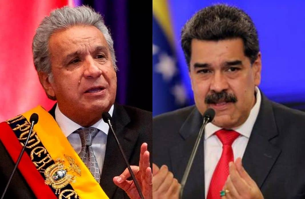 Presidente de Ecuador culpa a Maduro de intervenir en protestas de Colombia