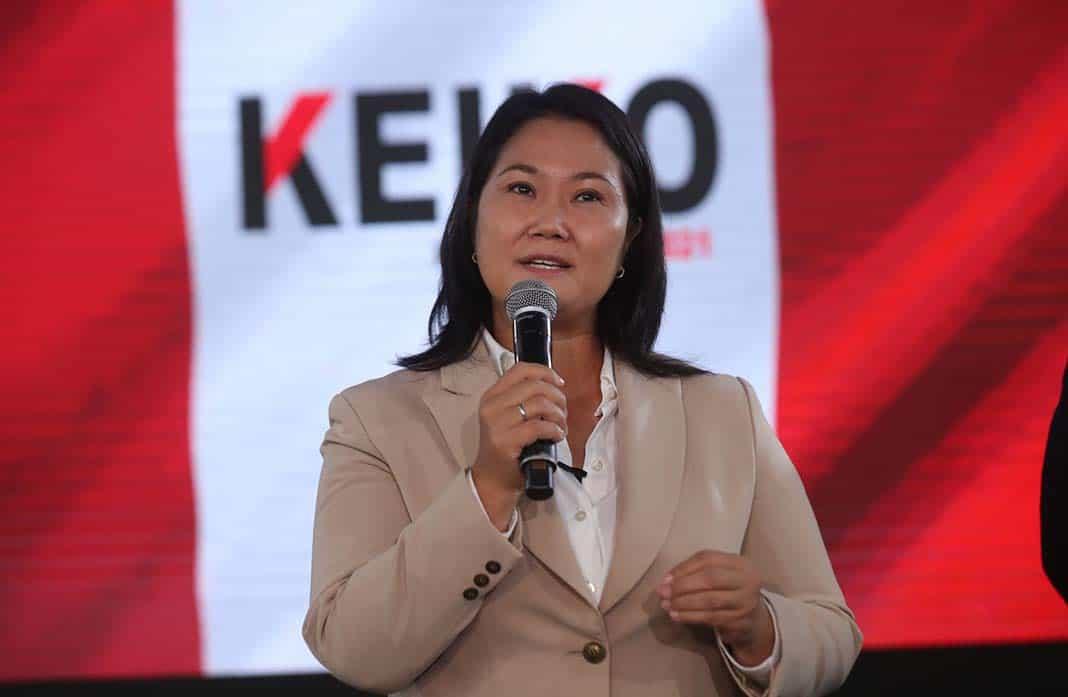 Keiko Fujimori ratifica su compromiso de respetar los resultados electorales