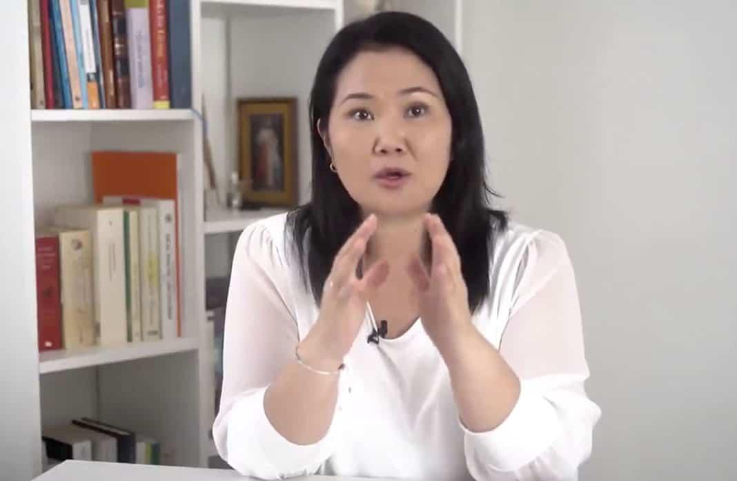 Keiko Fujimori: «El fiscal ha querido recortar mi derecho a defender los votos»