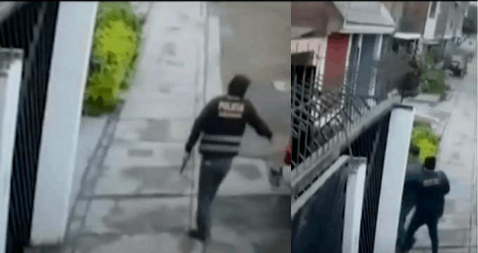 Comas: Delincuentes se hacen pasar por policías para robarbarrasde oro