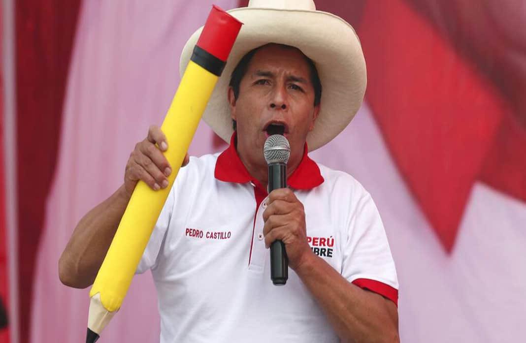 Brazo político del grupo terrorista MRTA apoya candidatura de Pedro Castillo
