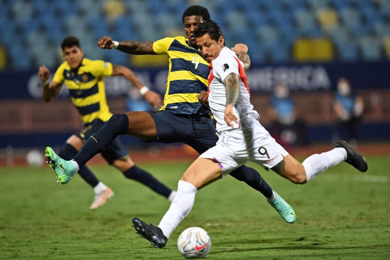 Lapadula selló el 2 – 2 con Ecuador