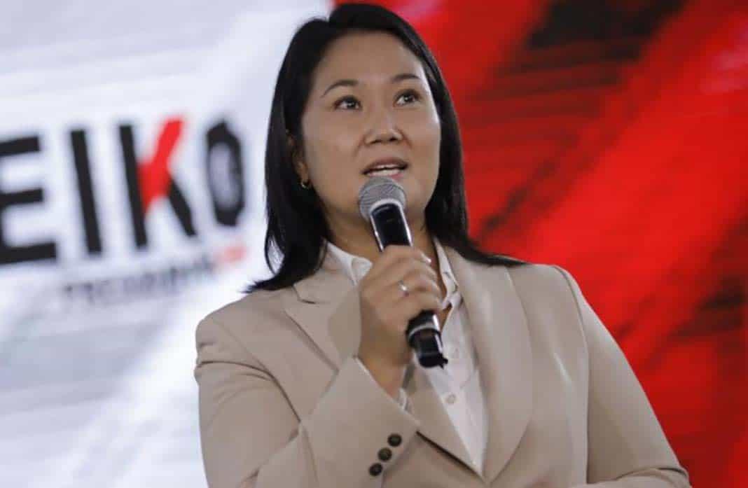 Keiko Fujimori confía en que llegará a la presidencia