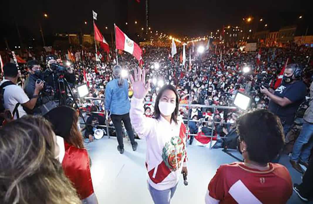 Keiko Fujimori anuncia campaña para exhibir nuevas denuncias de fraude