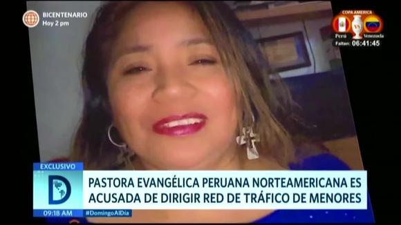 Pastora peruana vendía niños en Estados Unidos