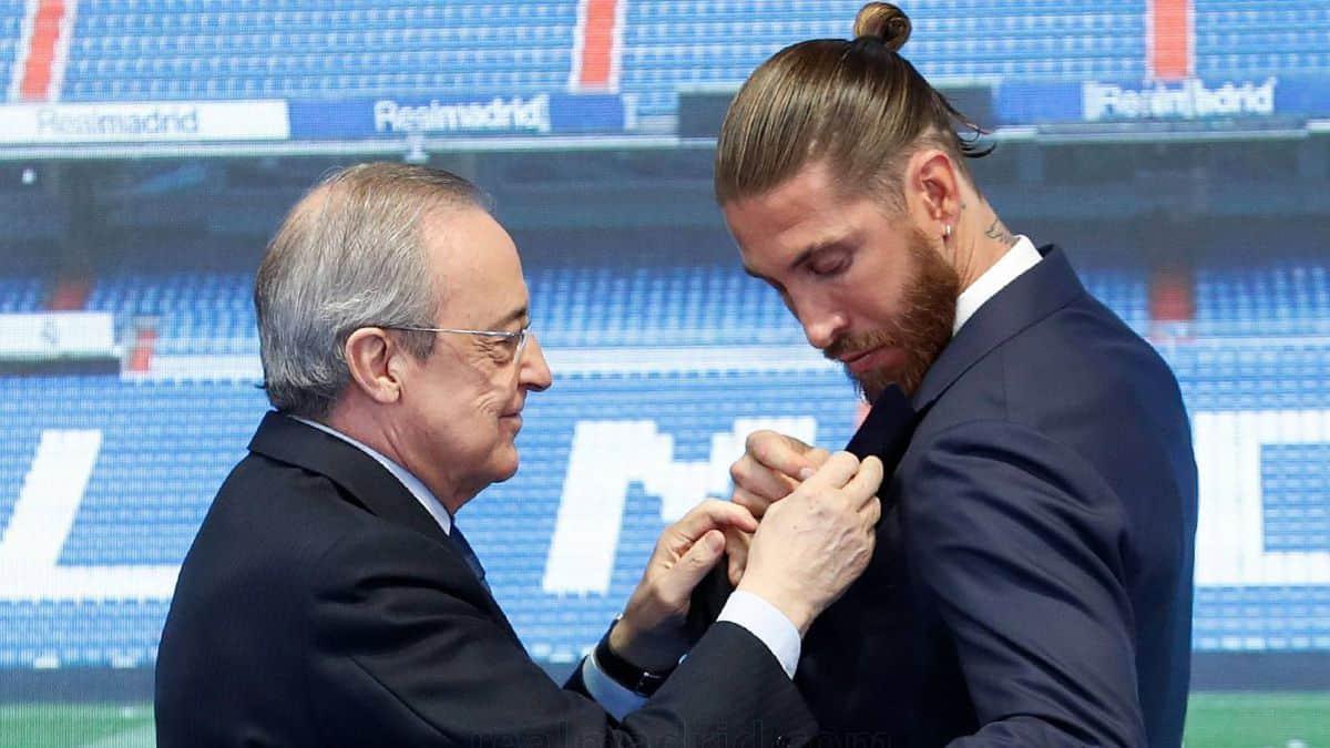 Ramos se desliga del Real Madrid