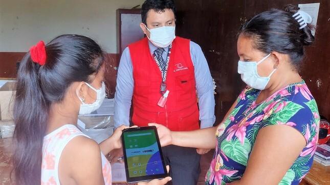 Tablets del Minedu tienen inoperatividad en Tumbes