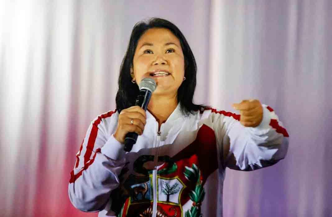 Keiko Fujimori: «Nuestro reclamo está dentro del marco de la ley y la Constitución»