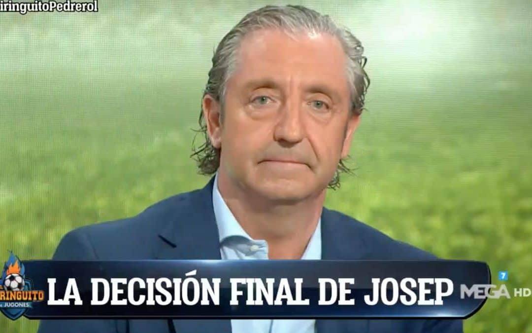"""La decisión final de Josep Pedrerol: """"Me quedo"""""""