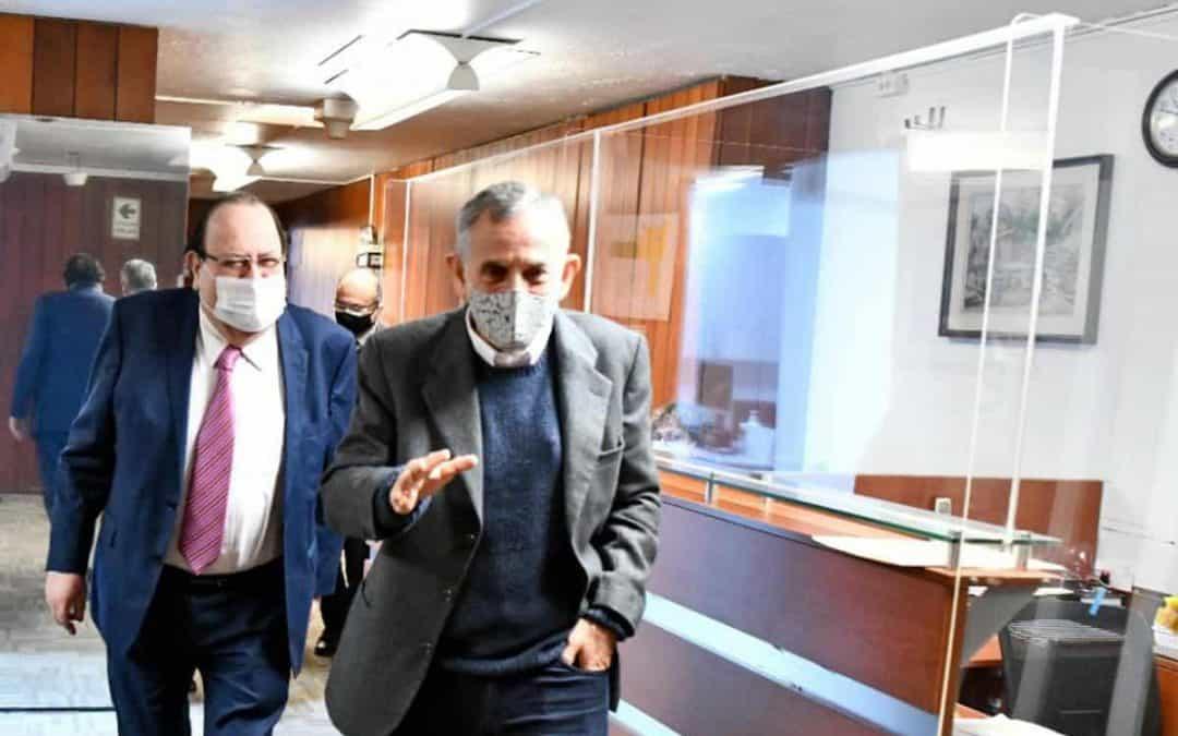 Francke se reunió con titular del BCR y superintendenta de la SBS