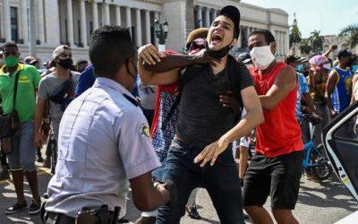 Traumática detención tras la protesta contra la dictadura en Cuba