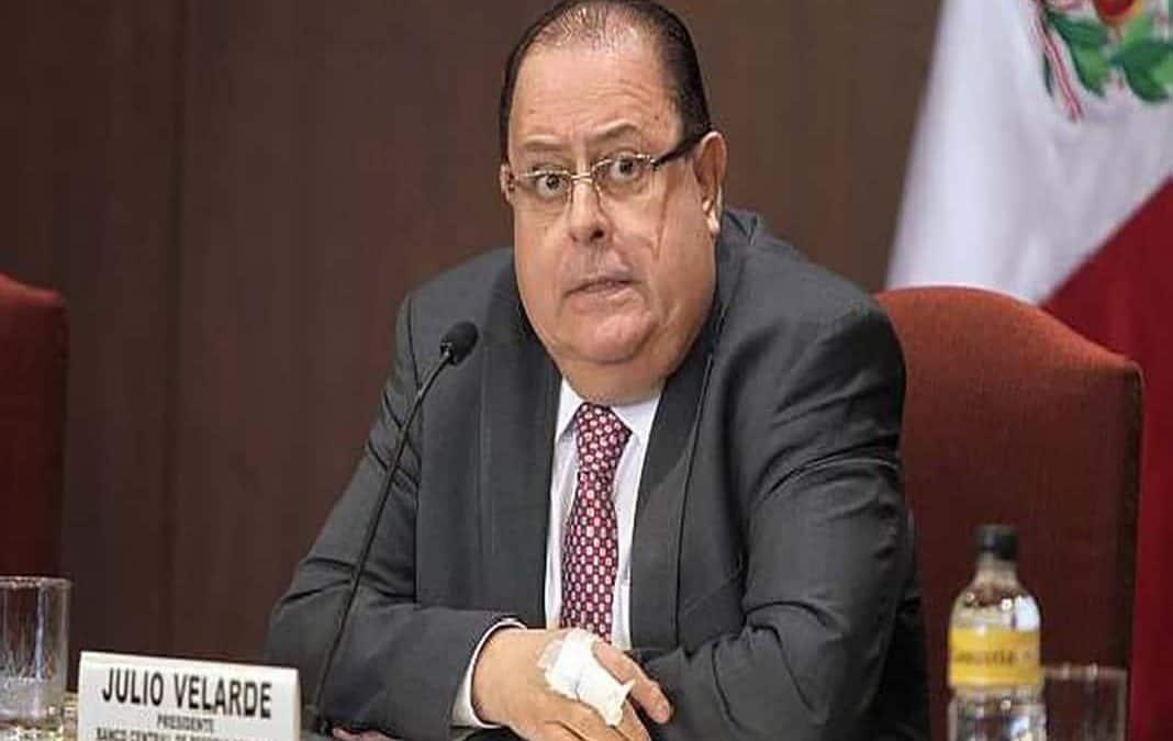 Julio Velarde continuaría como presidente del BCRP