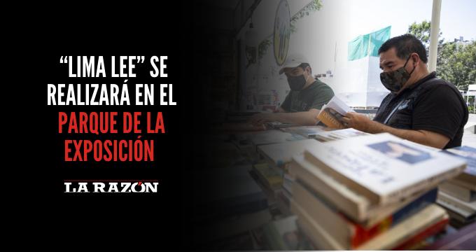 """""""Lima Lee"""" se realizará en el Parque de la Exposición"""