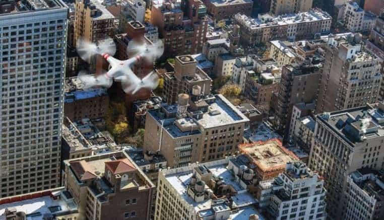 Drones para inspeccionar riesgos en edificaciones