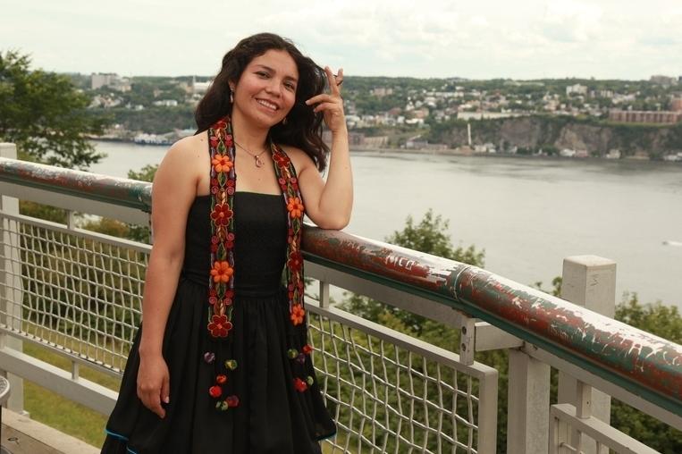 Josefina Ñahuis: faltan jóvenes cultores del acordeón andino