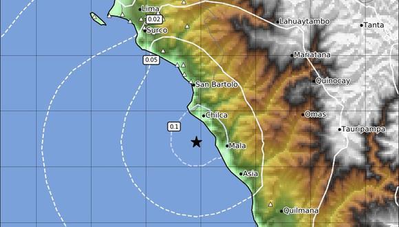 Nuevo sismo de 5.1 remeció Lima y Callao durante madrugada