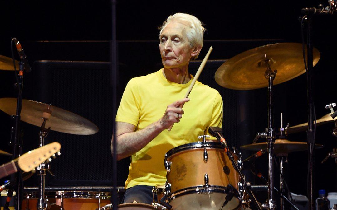 Murió el baterista  de los Rolling Stones