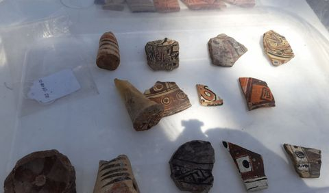 Cerámica hallada en Santa Apolonia se asemeja a la porcelana china