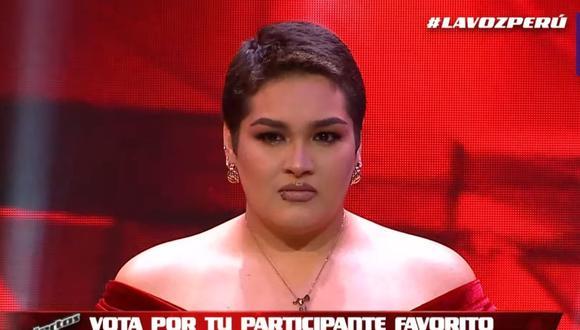 La eliminación de Joaquina Carruitero en La voz Perú