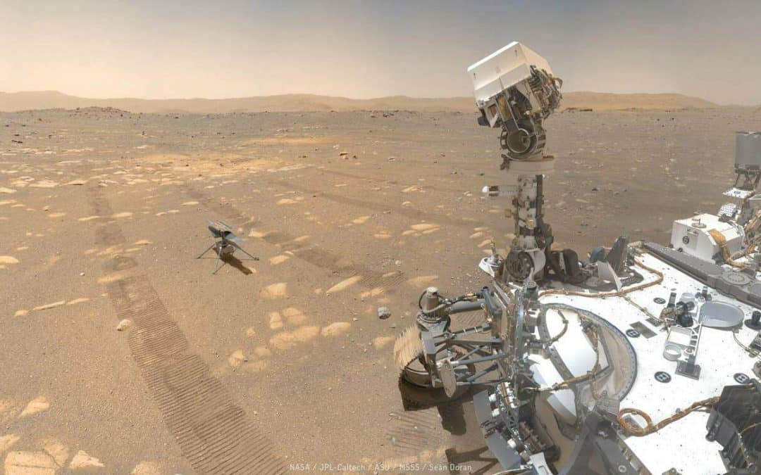 El Perseverance falla al intentar recoger muestras de Marte