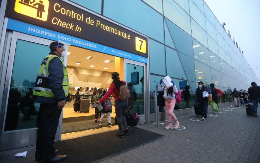 Turismo internacional cayó a más de 94% este año