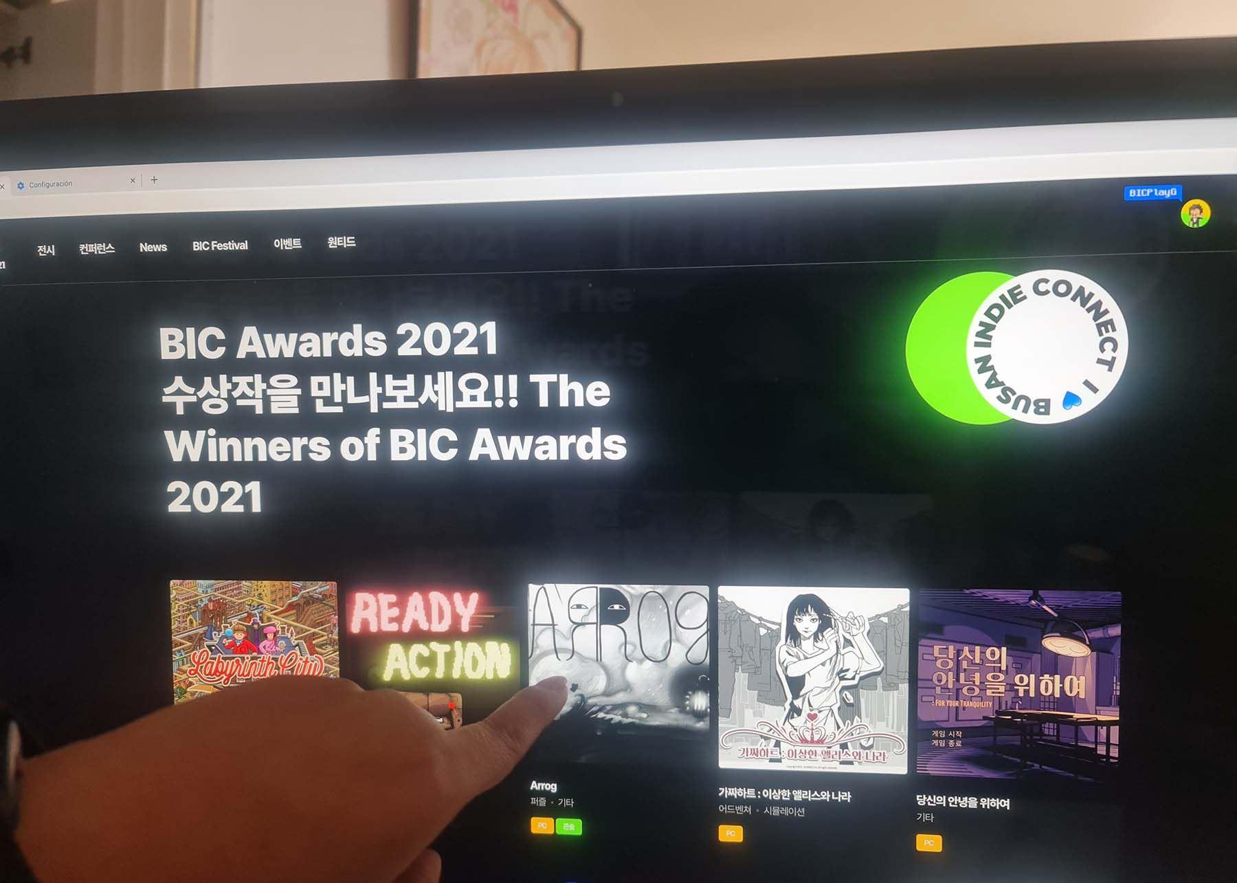 Juego Arrog fue premiado en festival en Corea