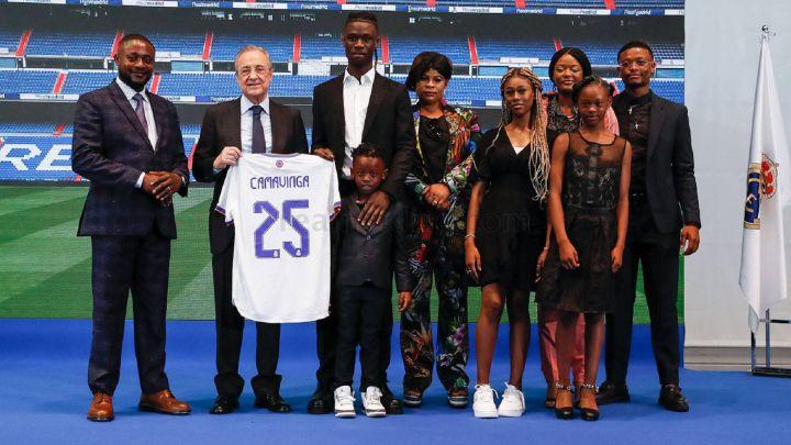 Camavinga: «Cuando supe que podía jugar en el Madrid no me lo pensé»