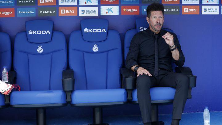 """Simeone: """"Fueron muchos minutos, pero tampoco vi nunca tanto tiempo perdido"""""""
