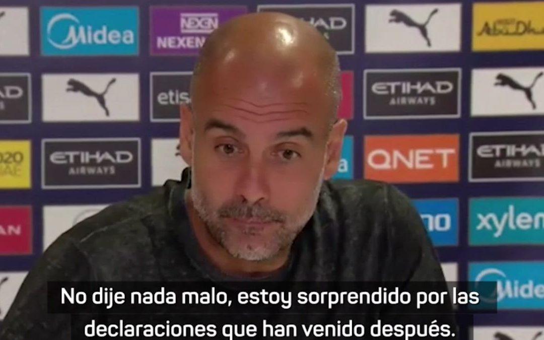 """Guardiola: """"Si me convierto en un problema para los aficionados, me iré"""""""