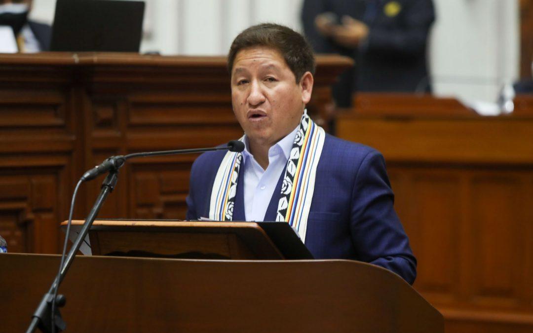 """Bellido difama al Ejército y la PNP: """"Protegen a la corrupción"""""""