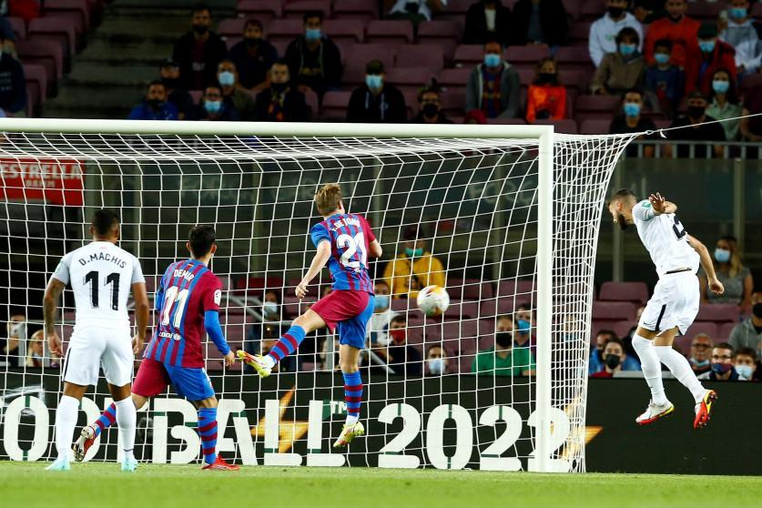 El Granada se deja dos puntos en el Camp Nou